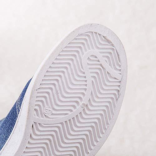 Profond Firengoli En Sport Doubles Chaussures Pour Neige Bleu Baskets Talons Molleton Hiver Plats Bottes De Jean Femmes rwfarpq