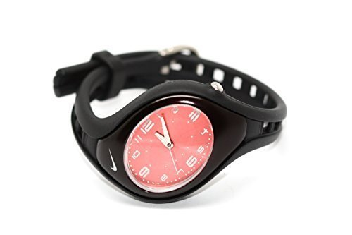 NIKE Triax Roar Womens Childrens Analog Sport Watch -Black/Coral