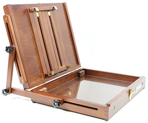 Sienna Plein Air Artist Pochade Box Easel Large (CT-PB-1012) ()