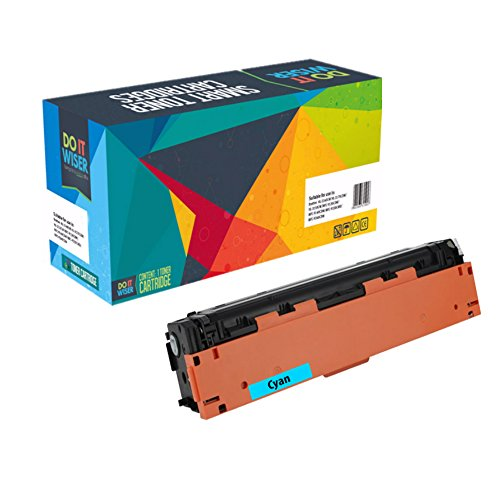Do it Wiser Compatible Toner Cartridge for HP 201X HP CF401X for HP Color Laserjet Pro MFP M277dw M252dw MFP M277n M252n - High Yield Cyan