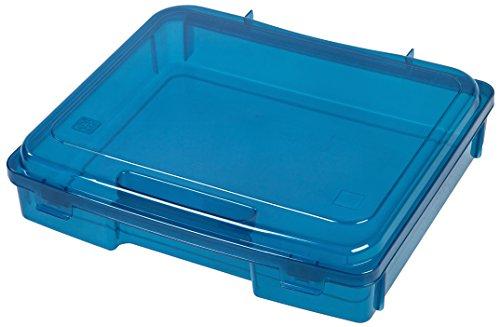 IRIS Portable Project Case, 1 Pack, Blue