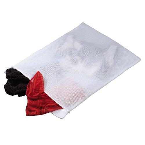 Xavax Wäschenetz für empfindliche Materialien (z. B. Dessous, Gardinen, Feinstrumpfhosen, Kaschmir, Merino), gepolstert, feinmaschig, 70 x 50 cm, für 3 kg Wäsche