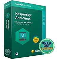 Kaspersky Anti-Virus Latest Version - 1 Device, 1 Year (CD)