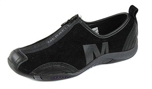 Merrell Women's Tango Posh Zip Sneakers Shoes [Black] [7.5]