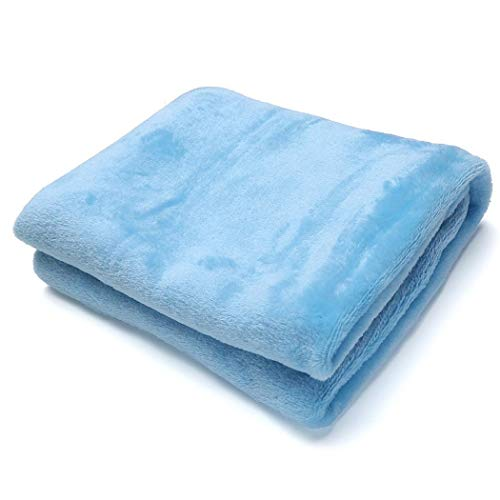 MinGe Flannel Blanket Lightweight Cozy Plush Microfiber Sofa Throw Blankets 50 x 70 cm