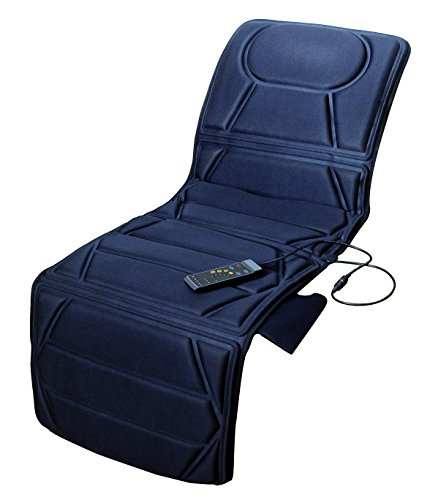 Carepeutic Targeted Zone Deluxe Vibration Massage Mat with Heat Therapy, 7 Pound