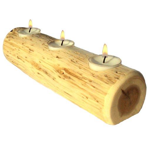 le (Rustic Cedar Log Holder)