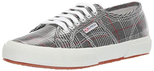 (Superga Women's 2750 TARTANPLW Sneaker, Plaid, 41.5 M EU (10 US))