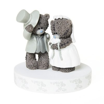 Me to You Tatty Teddy Wedding Cake Decoration Topper by tatty-teddy by USA