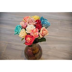 HungEnterprises DL82001 Artificial Rose, 12 Pack 82