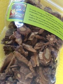 Herbs: Lovage Root ~ Dried ~ Wicca ~ 1 Oz ~ Ravenz Roost Herbs with Special Info on (Lovage Root Tea)