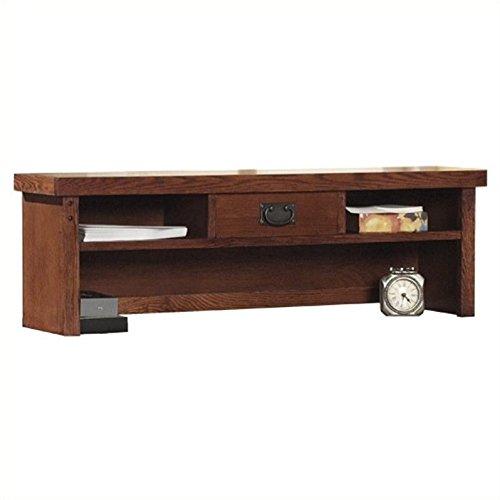 Martin Furniture Mission Pasadena Hutch for Credenza by Martin Furniture
