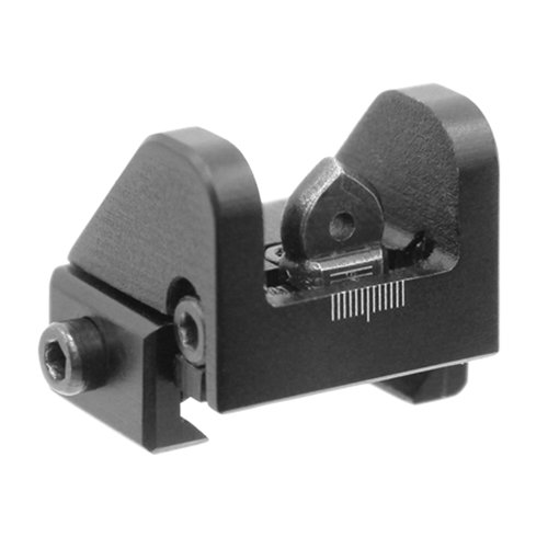 UTG Sub-compact Rear Sight for Shotguns, .22 Rifles