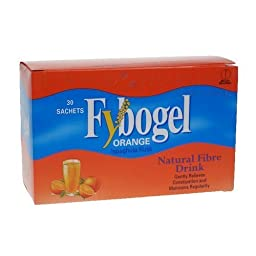 Fybogel Orange Sachets 2*30 (60) Sachets, by Fybogel