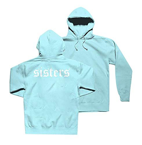 Kids Sweatshirt Sister - RIAOPA Youth James Charles Sisters Hoodies Pullover Hooded Sweatshirts for Boys Girls Sky Blue XL
