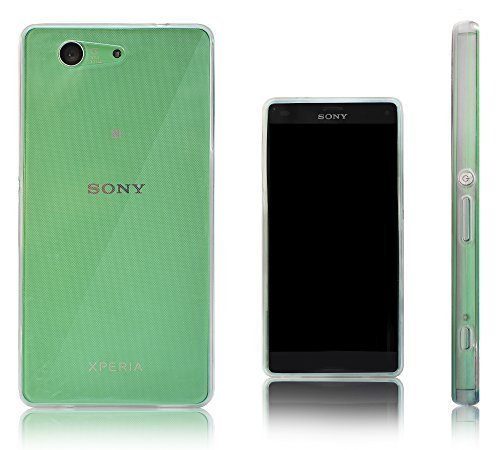 Silicone Clear Case for Sony Xperia Z3 (Clear) - 6