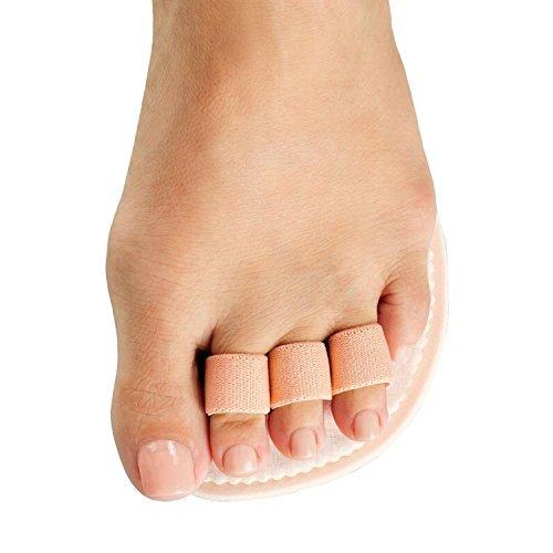 Dr. Jills Triple Toe, Hammertoe Straigtener (Budin Toe Splint) (Left) by Dr. Jill's by Dr. Jill's