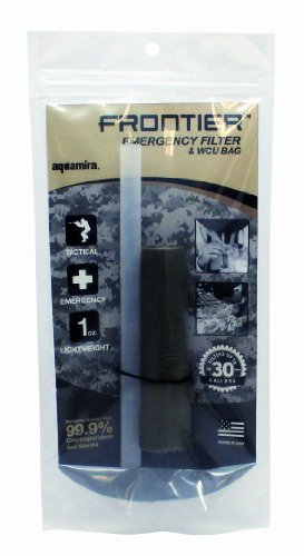 Aquamira Frontier Tactical Emergency Water Filtration and Straw