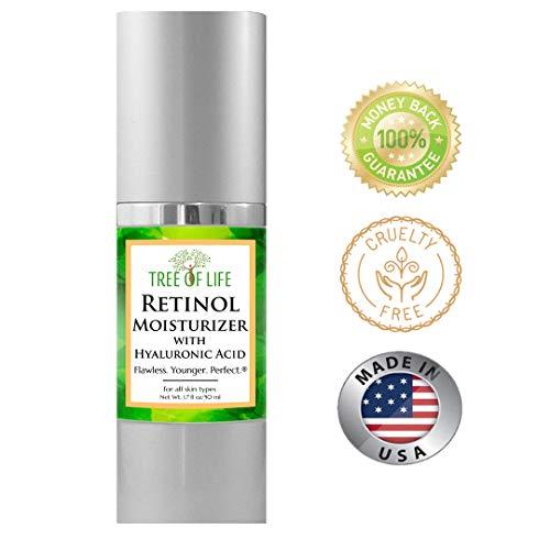 Retinol Moisturizer Face Cream  Clinical Strength Anti Aging Cream