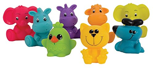 Playgro Fun in The Tub Jungle Squirtees for Baby Infant Toddler Children 0184966, Playgro is Encouraging Imagination with STEM/STEM for a Bright Future - Great Start for a World of Learning