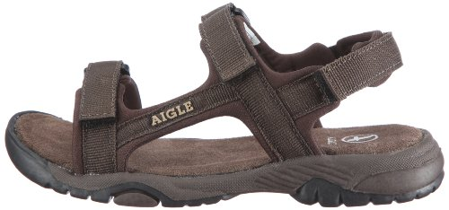 Aigle Broadstone Kid - Zapatos abiertos sin cordones, Marrón (Braun (Dark Brown)), 28 Marrón (Braun (Dark Brown))