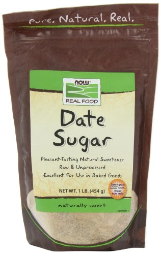 NOW Foods Date Sugar,  16-Ounce (Pack of 4) by NOW Foods