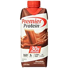 Premier Nutrition High Protein Shake, Chocolate, 12 Count by Premier