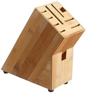 Zeller 25319 Messerblock, Bamboo / 19 x 9 x 21