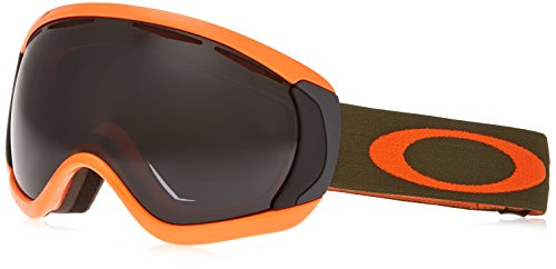 Oakley OO7047-31 Canopy Eyewear, Herb Orange, Dark Grey Lens