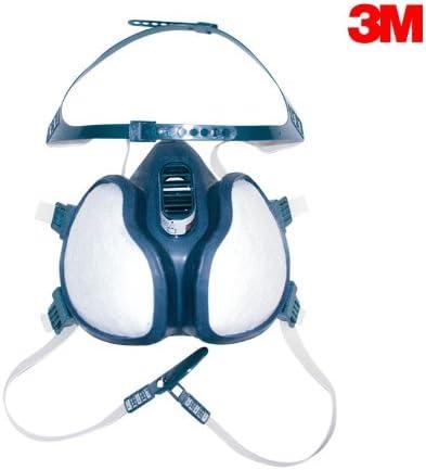 vapori organici polveri FFA1P2 3M 4251 Semi maschera senza manutenzione