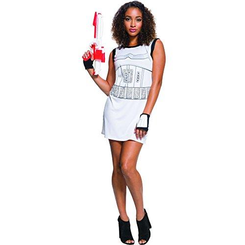 Rubie's Adult Star Wars Stormtrooper Rhinestone Costume Dress Set, (Storm Superhero Costumes)