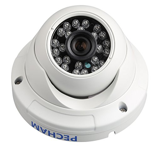 PECHAM Outdoor Überwachungskamera CCTV Überwachung, 1/3
