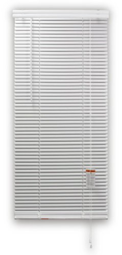 DEZ FURNISHINGS 28509 1-Inch Regular Vinyl Blind, 48-Inch W X 72-Inch L, White by DEZ Furnishings (Image #3)