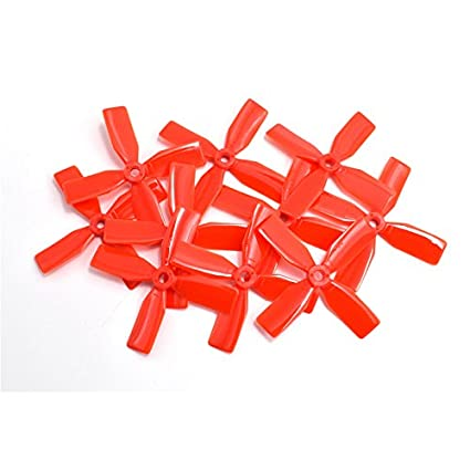 10Pair x 65mm Blade Propeller Prop  For 720 8520 Coreless Motor Micro Quad Red