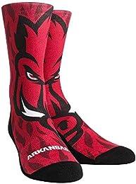 Rock 'Em Elite Arkansas Razorbacks Mascot Crew Socks