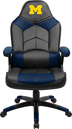 - Imperial Officially Licensed NCAA Furniture; Oversized Gaming Chairs, Michigan Wolverines