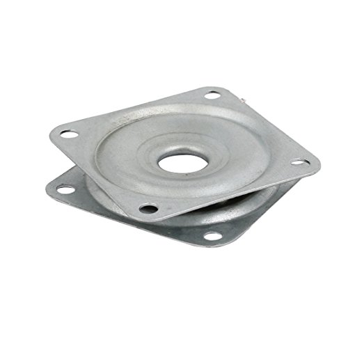 uxcell Square 2-inch Lazy Susan Turntable Bearing 5/16-inch Thick 44-Lb Capacity - Square Lazy Susan Bearing