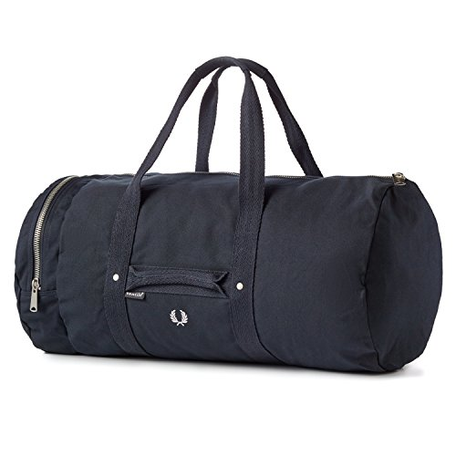 Fred Perry Men's Ventile Canvas Duffle Bag, Navy ()