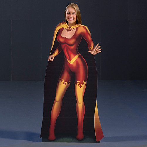 5 ft. Heroes & Villains Female Photo (Pictures Of Female Superheroes And Villains)