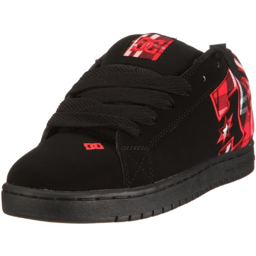 Sneaker SE DC Men's Graffik Court Black Plaid Red qZZz47