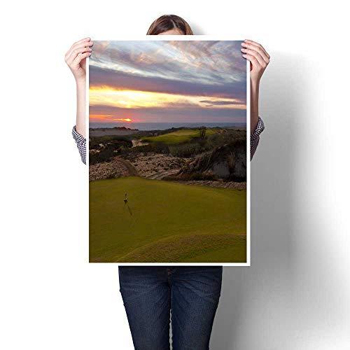 - Anniutwo MuralDiamante Dunes Golf Course Panorama at SunsetDormitory painting32 x48