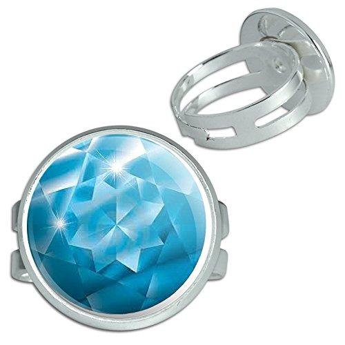 Aquamarine March Birthstone Image Only