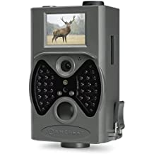 "Amcrest ATC-1201G 12MP Digital Game Cam Trail Camera with Integrated 2"" LCD Viewscreen, Long Range Night Vision, High-Sensitivity Motion Detection up to 65ft, Detachable Laser Remote, and More"