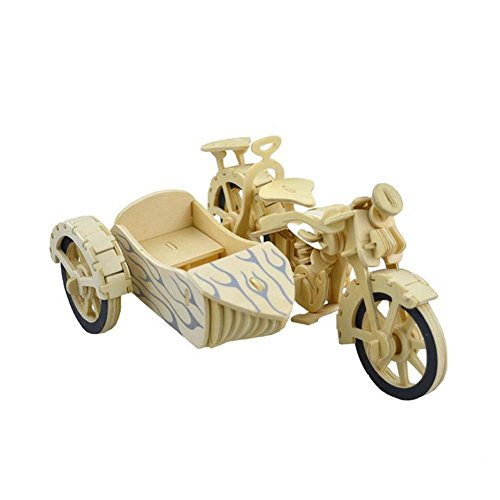 NOQ Wooden DIY Assembled Motorcycle/3D Stereo Jigsaw Puzzle/Home Decorative Arts And - 3d Art Jigsaw Puzzle