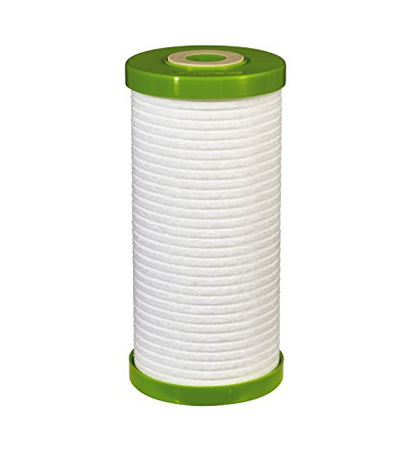 Filtrete Large Capacity Whole House Grooved Water Filter, 5 Microns, Sump Style Drop-In Filter, (4WH-HDGR-F01) ()