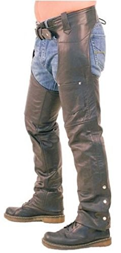 Biker Leather Trousers - 7