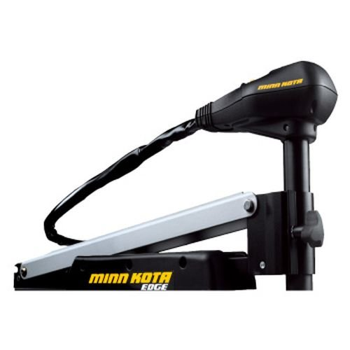 MinnKota Edge 70 Bowmount Foot Control Trolling Motor with Latch and Door Bracket (70lbs thrust, 45