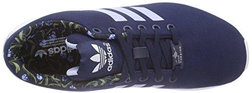 Blu st F15 Scarpe Donna Ftwr adidas Night Flux W Sportive Indigo Periwinkle ZX White wxTY1
