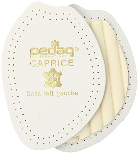 Pedag 'Caprice' Leather Half Insole for Heels, Pumps and Open Shoes UK 2/3L E35/36 by Pedag