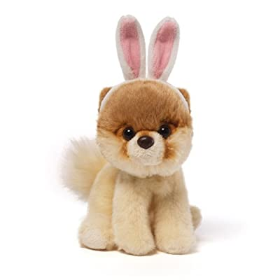 "Gund Itty Bitty Boo The World's Cutest Dog with Bunny Ears 5"" Plush"